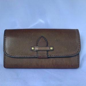 Frye genuine leather wallet
